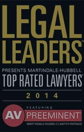 Legal Leaders Top Rated Lawyer 2014